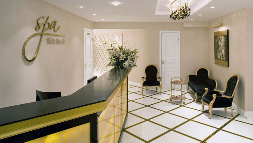 Baltic Beach Hotel SPA zonas interjera dizains