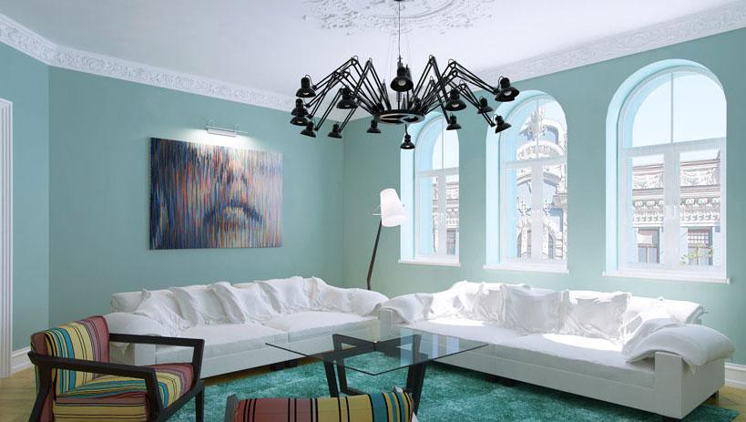 Dzīvokļa interjera dizains Alberta ielā Rīgā