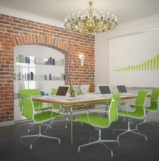 Дизайн интерьера офиса компании ORIFLAME Latvia в Риге