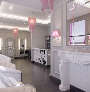 Дизайн интерьера салона красоты в Вентспилсе