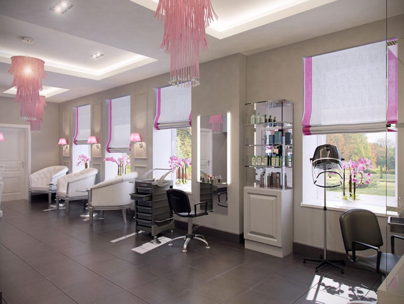 Beauty Salon Interior Design Classic Amazing Home Interior