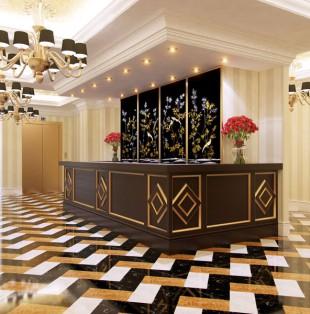 Дизайн интерьера отеля в Москве