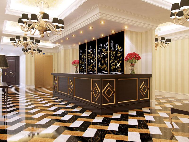 Hotei Interior In Moscow 171 Koncepcija Lv