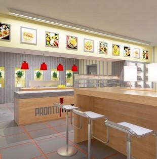 Дизайн интерьера итальянского ресторана в Риге
