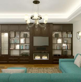 Дизайн интерьера квартиры в стиле Ар-Деко в Юрмале