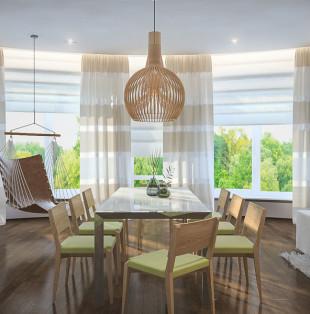 Дизайн интерьера квартиры в стиле эко-минимализма